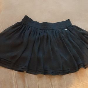 Hollister nwt Betty skater skirt medium navy blue